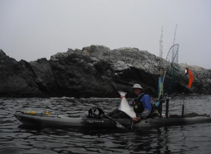 Good thing she likes halibut trinidad rockfish wars for Kayak fishing tournaments