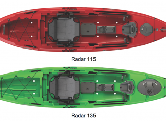 New tri-powered kayak features open, stable design and maneuverability
