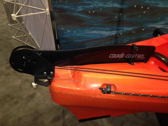 NEW Course Control Rudder System   Wilderness Systems Kayaks