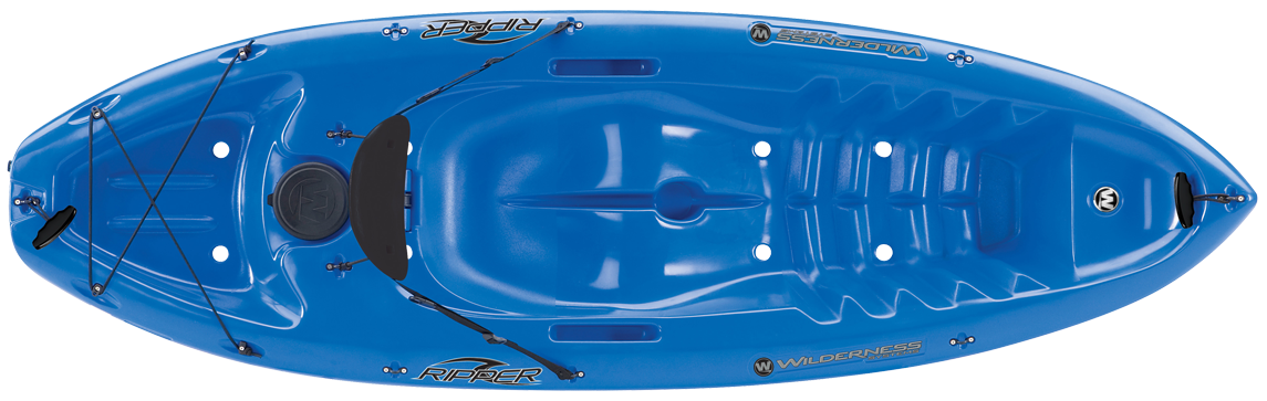 Top view of Wilderness Systems Ripper Sit-on-Top Kayak