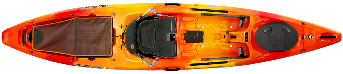 Top view of 2020 Tarpon 120 Kayak