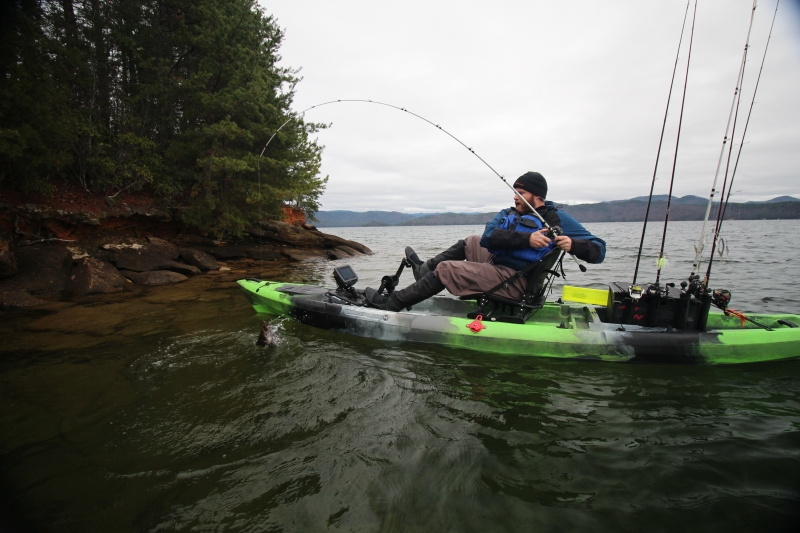 Wilderness systems pedal drive development pedaled by the for Fishing kayak with pedals