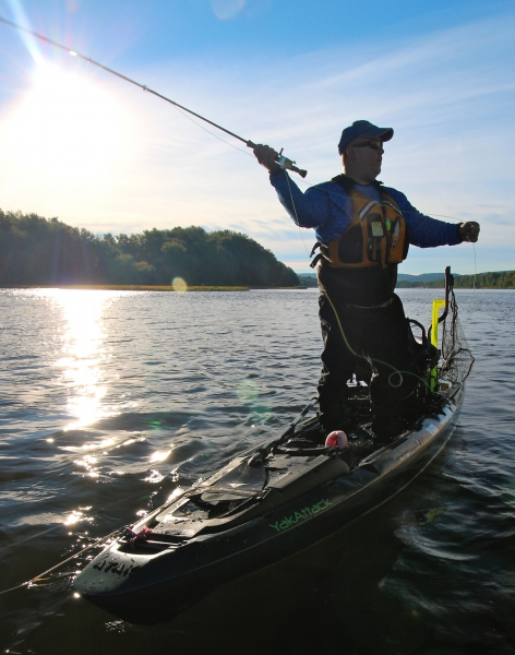 What makes a great fly fishing kayak wilderness systems for Fly fishing team usa