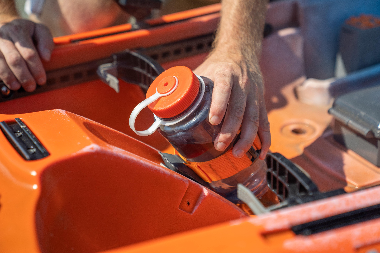 Water Bottle Strap for Tarpon 105 Kayak