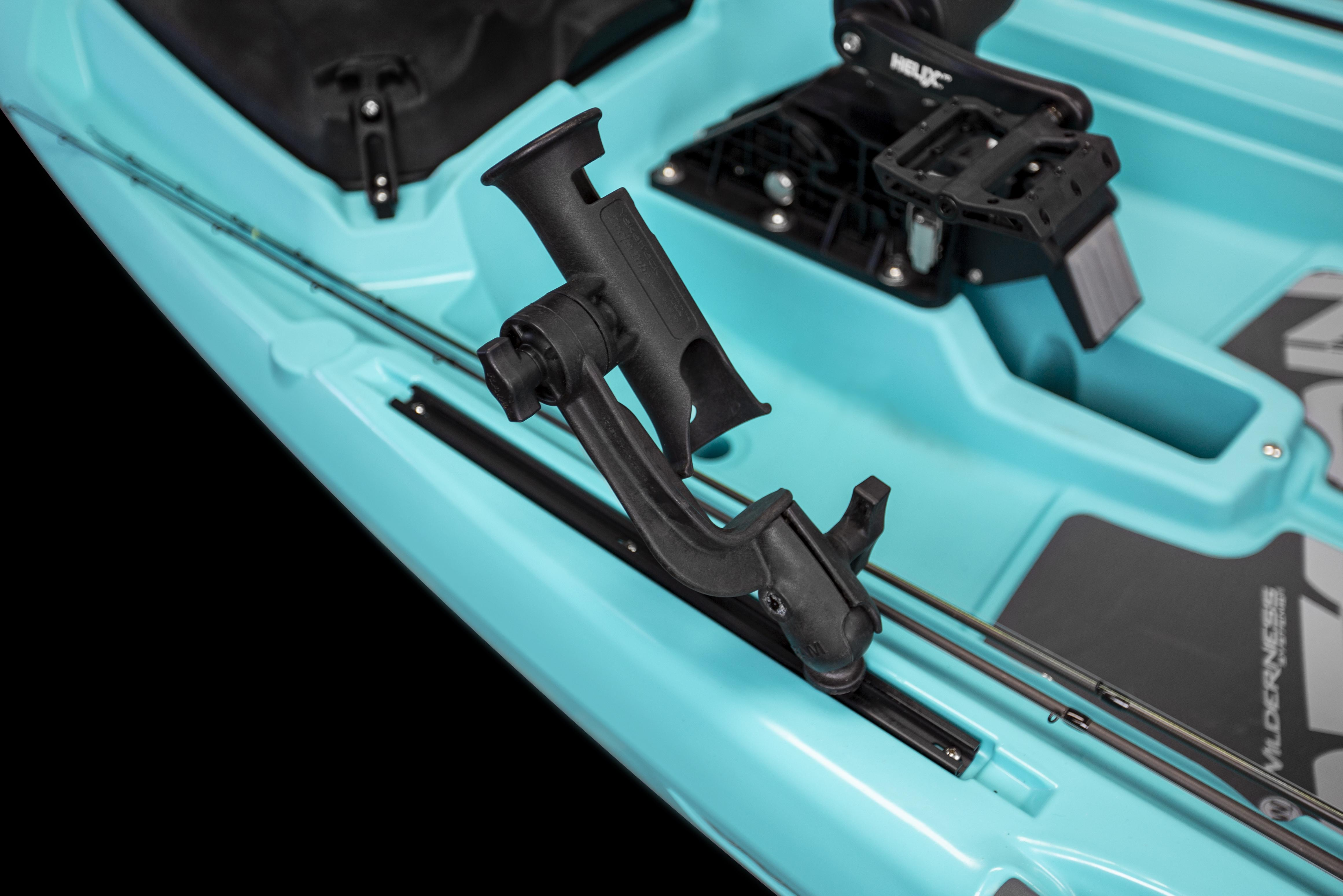 SlideTrax Accessory Rails with Rod Holder