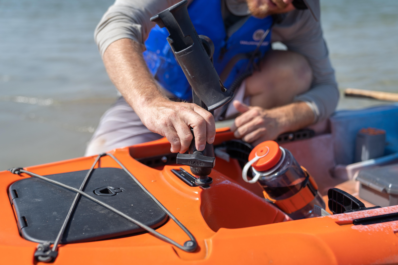 SlideTrax Accessory Rails for the Tarpon 120 Kayak