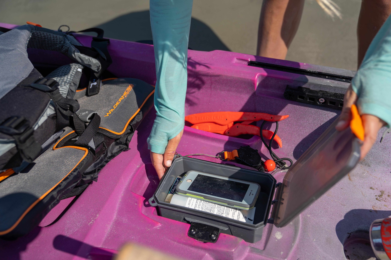 Removable DryBox for the Tarpon 105 Kayak