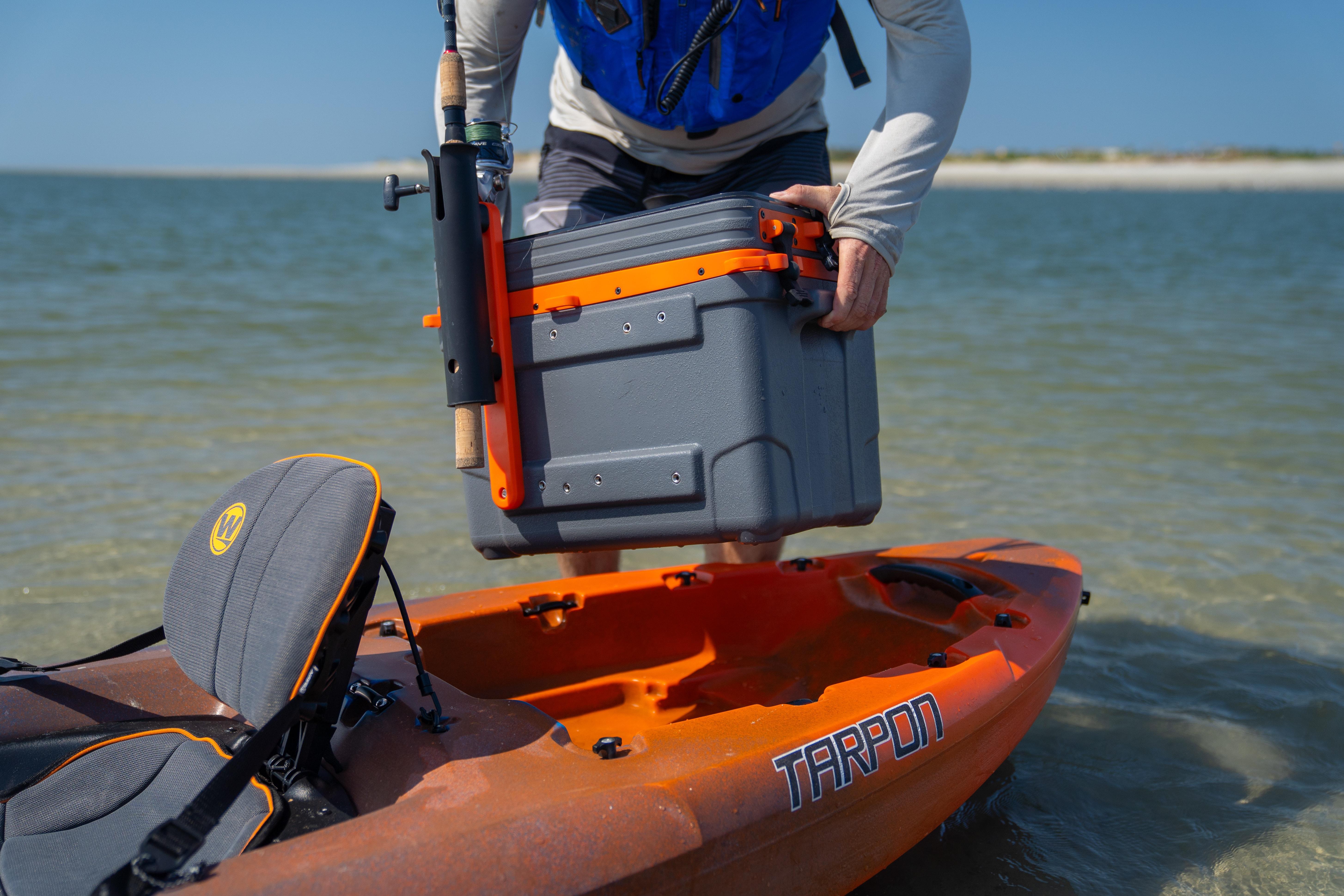 Stern Storage Tankewell - Tarpon 105 Kayak