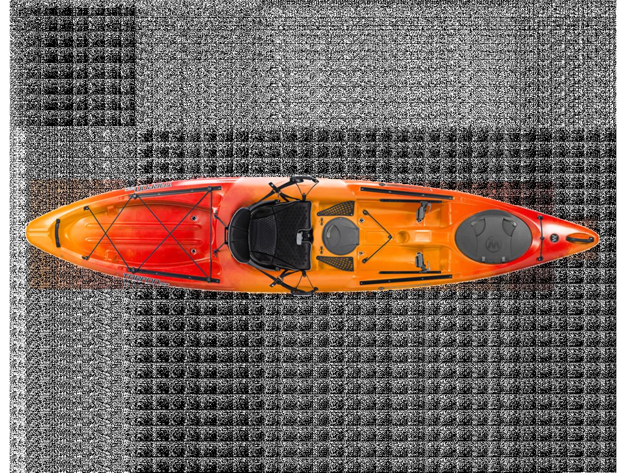 Wilderness systems tarpon 120 fishing kayak for Wilderness fishing kayak