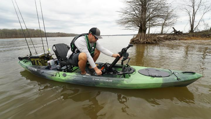 Radar 135 pedal drive kayak