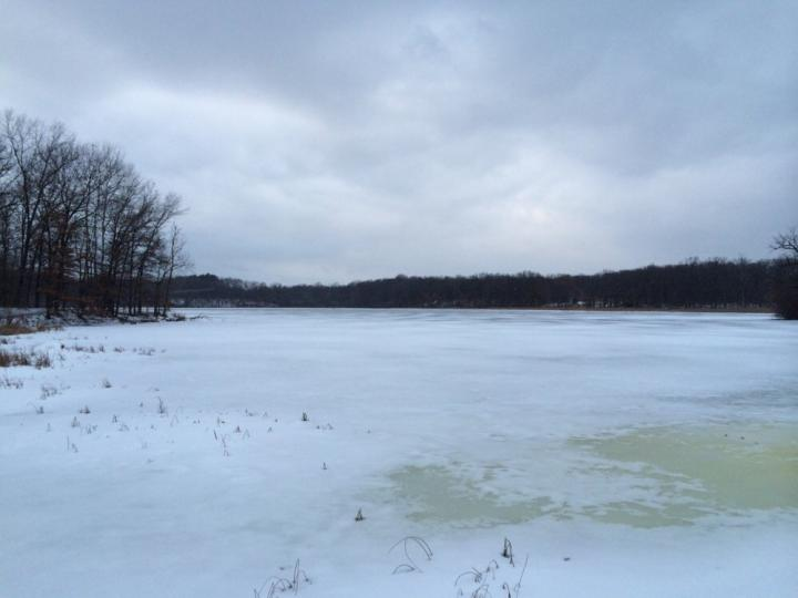 Ice fishing in the midwest wilderness systems for Fishing the midwest