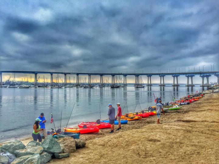 southern cali fishing kayaks