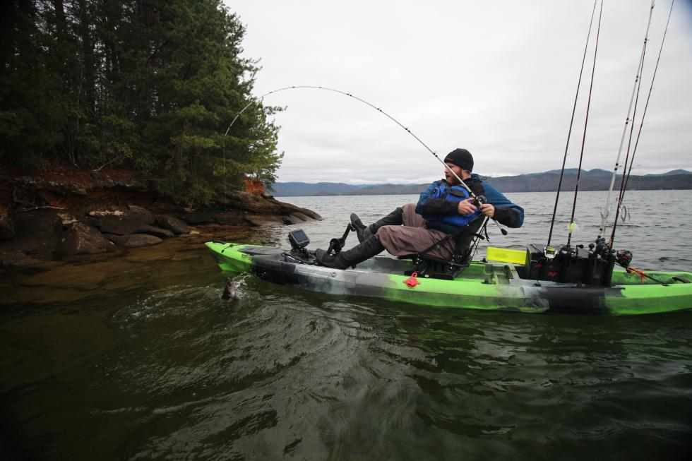 Experience wilderness systems kayaks usa canada for Wilderness systems fishing kayaks