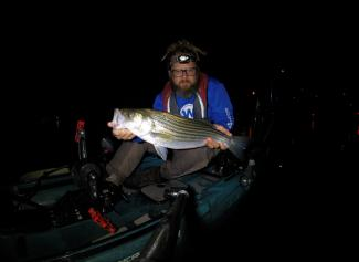 striper fishing in the radar 135