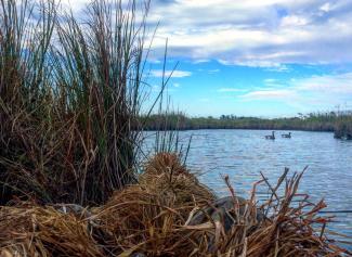 kayak hunting and fishing