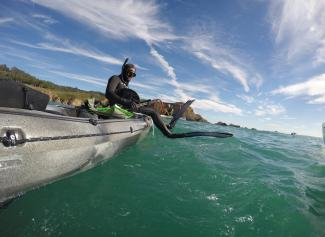 spear fishing kayak